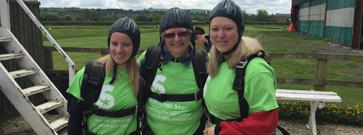 Helen's fearless fundraising