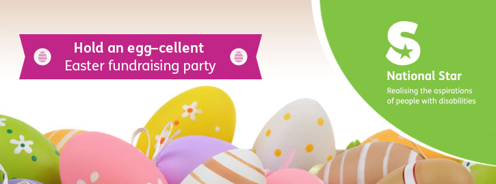 Hold an egg-cellent Easter fundraising party