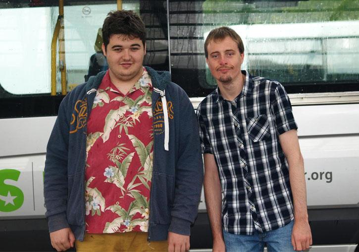 Gareth and Dan