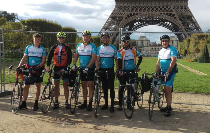 Speller Metcalfe cycle London to Paris