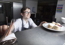 Supported internship lands Tom dream chef job