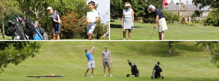 StarGolf Members smiling, playing and enjoying golf