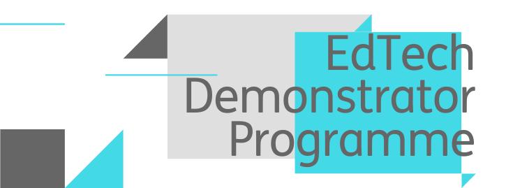 EdTech Demonstrator Programme