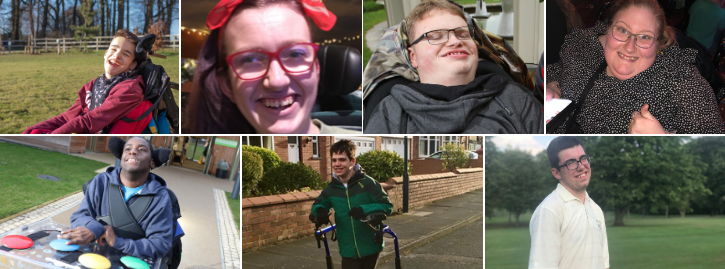 Collage of pictures of the Student Union (left to right): Cain Webb, Molly Martin, Alex Smith, Katie Leigh Walker, Daniel Sulola, Elliot Caswell, Freddie Bowden