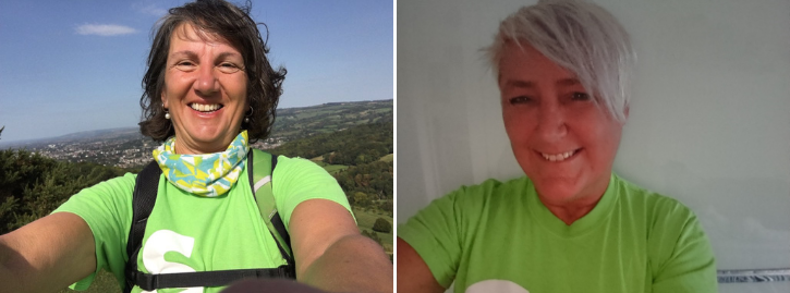 Fundraising stars: Mandy and Louise