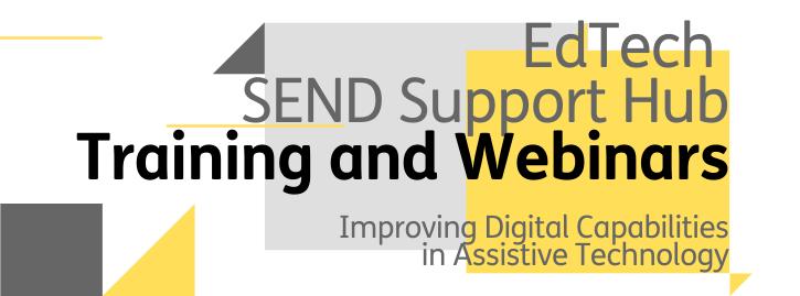 Training and Webinars