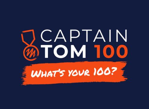 Captain Tom 100 Challenge Header