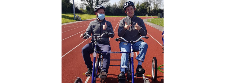 Michael Herbert cycling