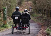 Students undertake cycling challenge to mark Autism Awareness Week